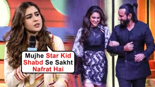 Sara Ali Khan Breaks Silence On Nepotism, HATES The Term Star Kids With Barkha Dutt
