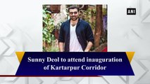 Sunny Deol to attend Kartarpur Corridor inauguration
