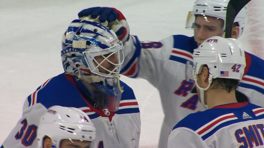 Henrik Lundqvist's 45-save performance
