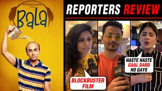 Bala Movie HONEST Reporters Review | Ayushmann Khurrana, Yami Gautam | First Day First Show