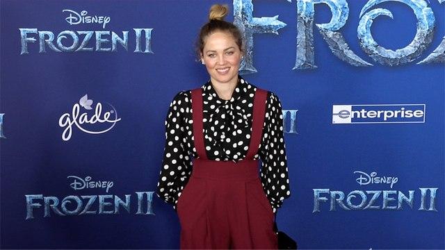 """Erika Christensen """"Frozen 2"""" World Premiere Red Carpet"""