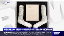 La paire de chaussettes de Michael Jackson, avec laquelle il a fait son premier moonwalk, mise aux enchères