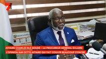 Affaire Charles Blé Goudé - Le Procureur Général a animé une conférence de presse afin d'éclairer l'opinion sur cette affaire qui fait couler beaucoup d'encre et de salive
