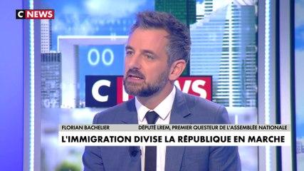 Florian Bachelier - CNews vendredi 8 novembre 2019