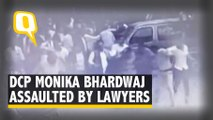New Video on Tis Hazari Clash Shows Woman Cop Being Assaulted By Lawyers