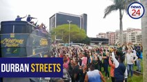 WATCH | Silver lining as the World Cup tours rainy Durban
