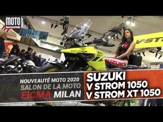 SUZUKI V Strom et V Strom XT 1050 - Nouveautés moto 2020 - EIMCA 2020