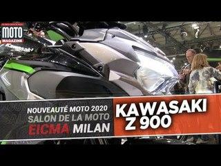 KAWASAKI Z900 - Nouveautés moto 2020 - EICMA 2019