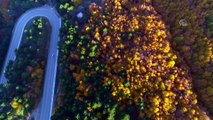 Kışın gözdesi Uludağ sonbaharda da göz kamaştırıyor - BURSA