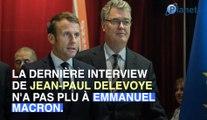 Retraites : comment Emmanuel Macron a recadré Jean-Paul Delevoye