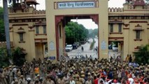 BHU students protest over appointment of Muslim professor in Sanskrit faculty