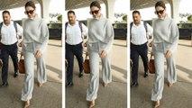 चौंका देगी दीपिका की इतनी महंगी ड्रेस   Deepika Padukone Airport Look   Boldsky