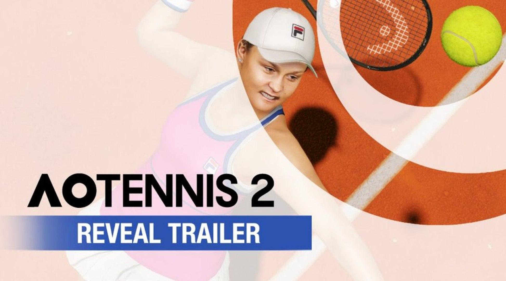 AO Tennis 2 - Reveal Trailer | Official Tennis Game 2020