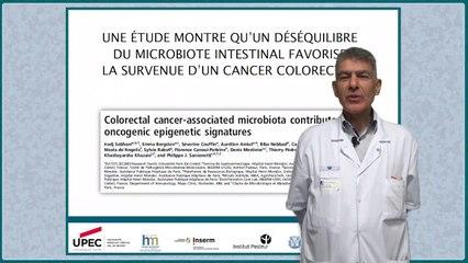 Une étude  montre qu'un déséquilibre du microbiote intestinal favorise la survenue d'un cancer colorectal