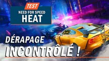 NEED FOR SPEED HEAT, Dérapage incontrôlé ! | TEST