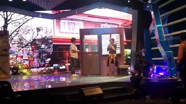Ningning at Macmac, dumalaw sa rehearsals ng opening gags!