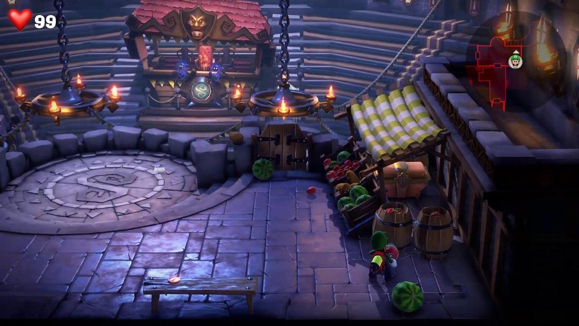 Luigi S Mansion 3 Walkthrough Gameplay Part 7 Castle Macfrights Boss Battle