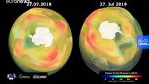Ozon deliği insani çabalardan çok doğal yollarla küçüldü