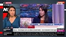 Morandini Live : Julie Graziani émue, la journaliste s'excuse et s'explique (vidéo)