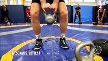 Emission télé matin samedi 2 Novembre - test wrestling training par Julie Ferrez
