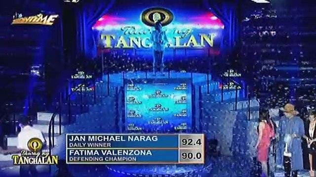 Jan Michael Narag, hinirang na defending champion ng Tawag ng Tanghalan