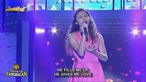 Visayas contender, Mojolica Santos sings Whitney Houston's All The Man That I Need