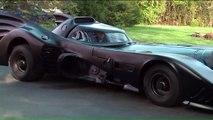 Cet homme a fabriqué sa propre Batmobile