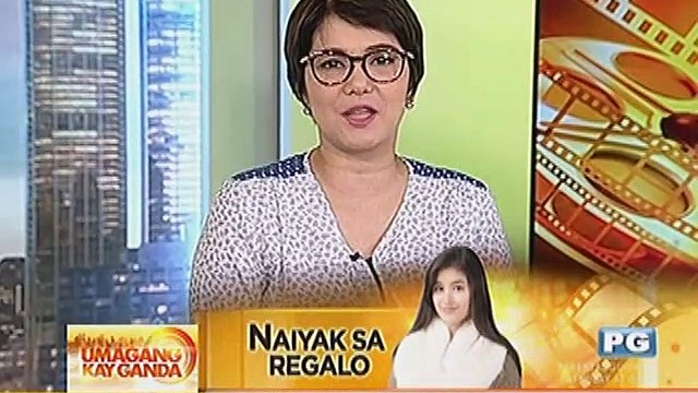 Liza Soberano, naiyak sa regalong puppy sa kanya ni Enrique Gil
