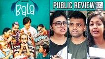 Bala Public Review | Ayushmann Khurrana | Bhumi Pednekar | Yami Gautam