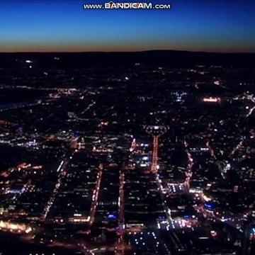 Luftfoto over Oslo | Melodi Grand Prix 2006 | NRK