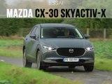 Essai Mazda CX-30 SkyActiv-X 180 Sportline 2019