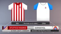 Match Preview: Atletico Madrid vs Espanyol on 10/11/2019