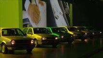 Weltpremiere des neuen Volkswagen Golf - Golf Generationen Geschichte