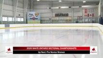 2020 Skate Ontario Sectionals - Pre-Novice Women - Free  Program (Skaters 1-17)