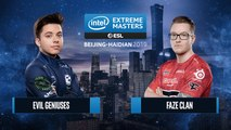 CSGO - FaZe Clan vs. Evil Geniuses [Nuke] Map 1 - Group B - IEM Beijing-Haidian 2019