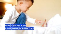 Did you know a lot of screen time isn't good for toddlers' brains?