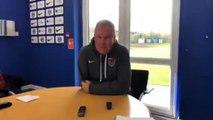 Kenny Jackett pre-Harrogate press conference
