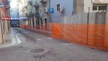 Andria: riaprono al traffico via Pisani e via Genovesi - 8 novembre 2019