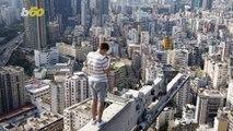 Daredevil Drone Pilot Captures Stunning Views of Hong Kong Skyline