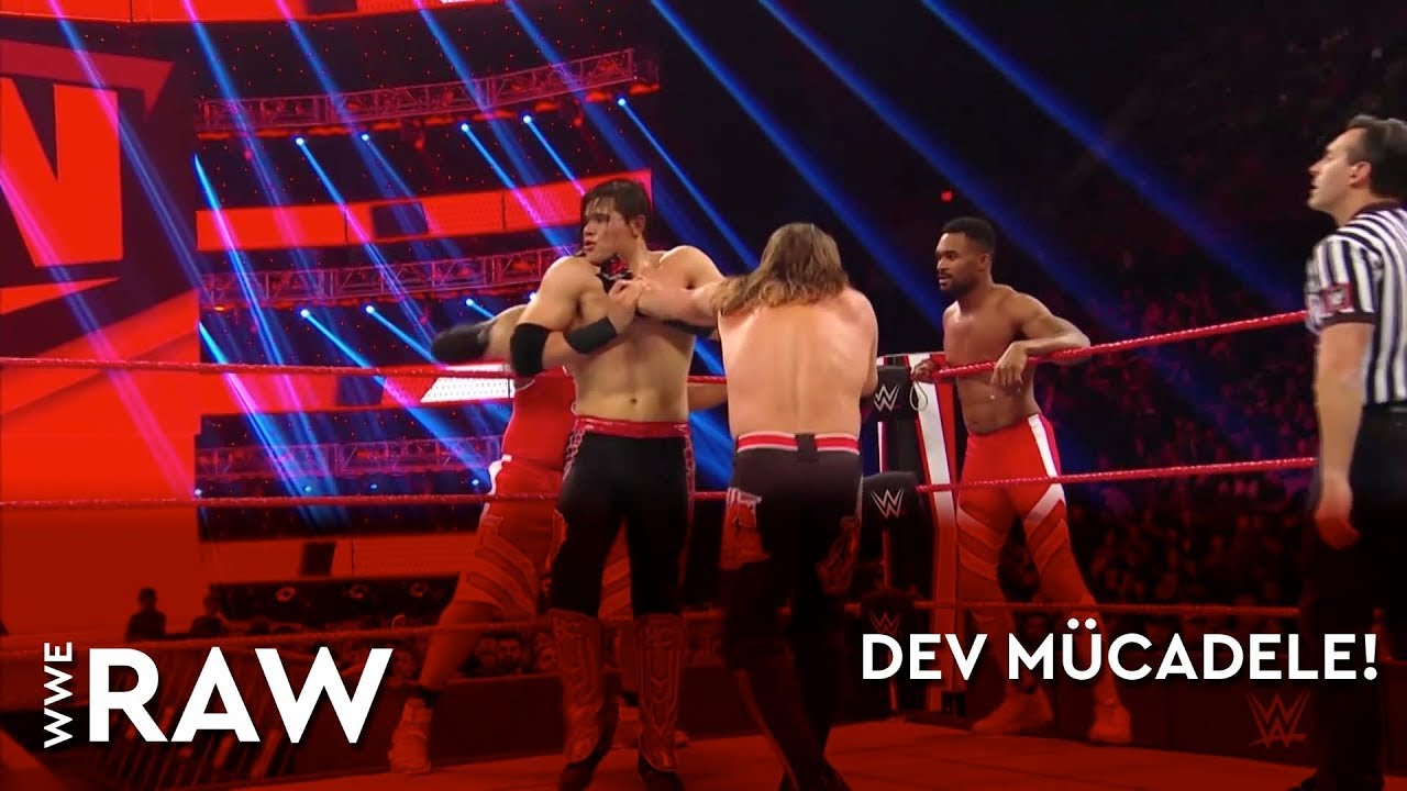 WWE Raw | Dev Mücadele! (Türkçe Anlatım)