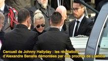 C_ercueil de Johnny Hallyday : les révélations d'Alexandre Benalla