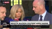 Brigitte Macron sort du silence pour soutenir Adèle Haenel