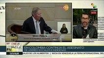 Colombia:reacciones tras renuncia del min. de Defensa Guillermo Botero