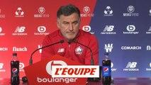 Galtier «Maintenir cette exigence à domicile» - Foot - L1 - Lille