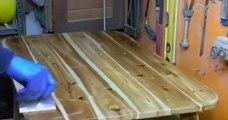 DIY : une palette en bois transformée en table basse