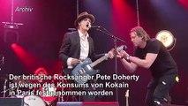 Kokain: Rocksänger Pete Doherty in Paris festgenommen