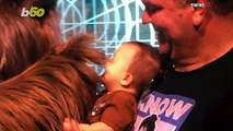 The Laugh Jedi! Baby Star Wars Fan Captured Having Happy Moment With Chewbacca