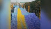 Instalação tem 30 mil mensagens sobre o Muro de Berlim