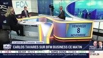 Carlos Tavares sur BFM Business ce matin - 08/11