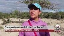 Campo de exterminio de 'Los Zetas' en Moctezuma, San Luis Potosí
